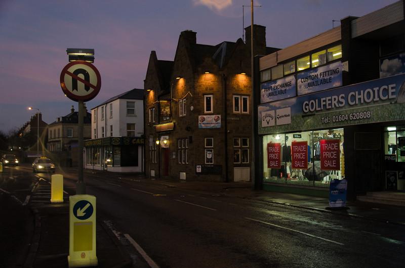 The Britannia pub, Barrack Road, Northampton