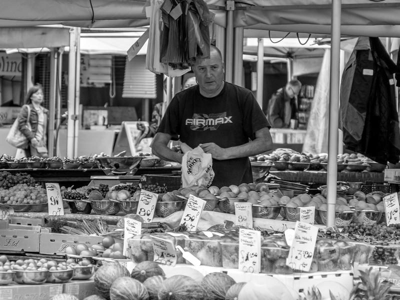 Market Stall, Market Square, Northampton_