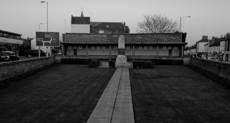 War Memorial, Abington Square, Northampton