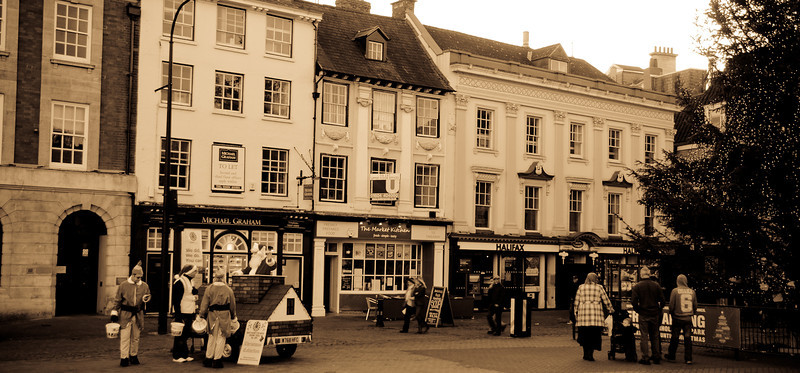 Market Square south, Northampton
