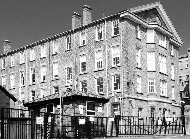 Northampton Gaol, now County Hall.