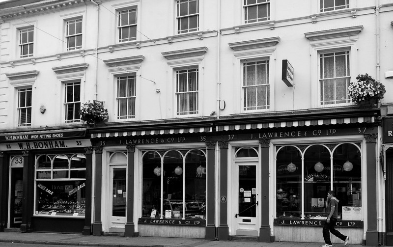 Original Shop fronts, St Giles Street, Northampton