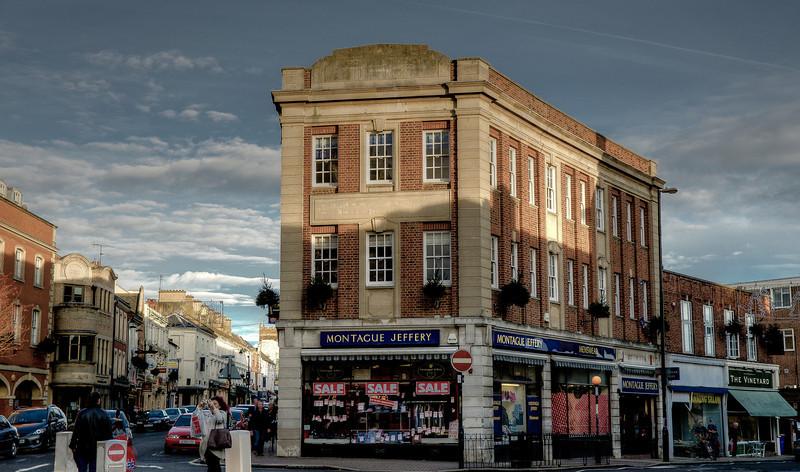 Montague Jeffrey, St Giles Street, Northampton