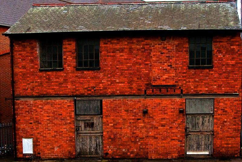 The last house in Woolmonger Road--