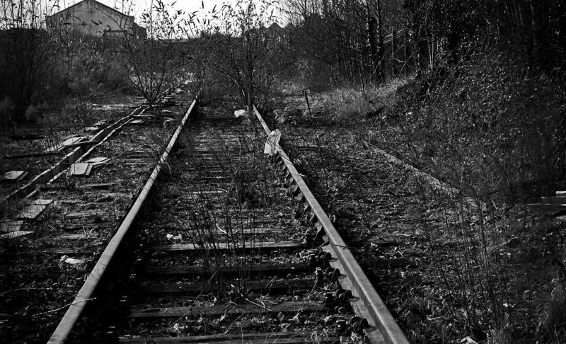 Remains of Bridge Street station, Northampton