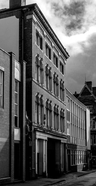 Venitian details, College Street,  Northampton