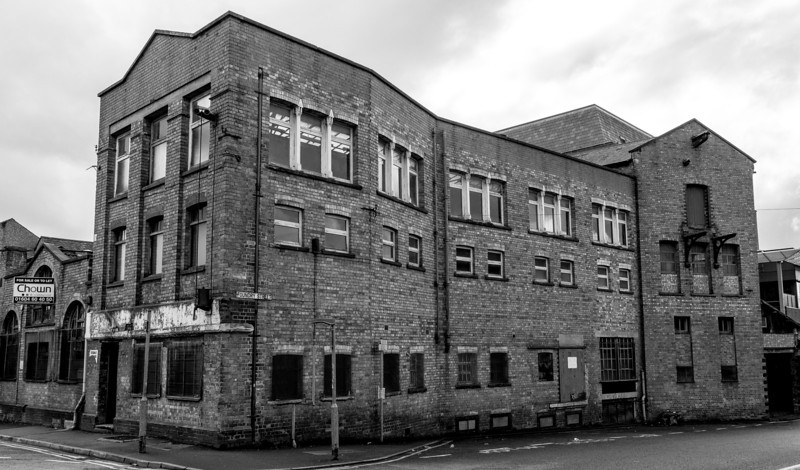 Decaying Factory, Foundary Street, Northampton