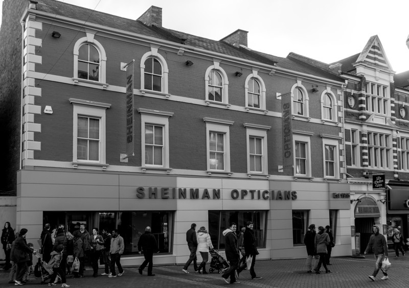 Sheinman Opticians, Abington Street (near York Road), Northampton