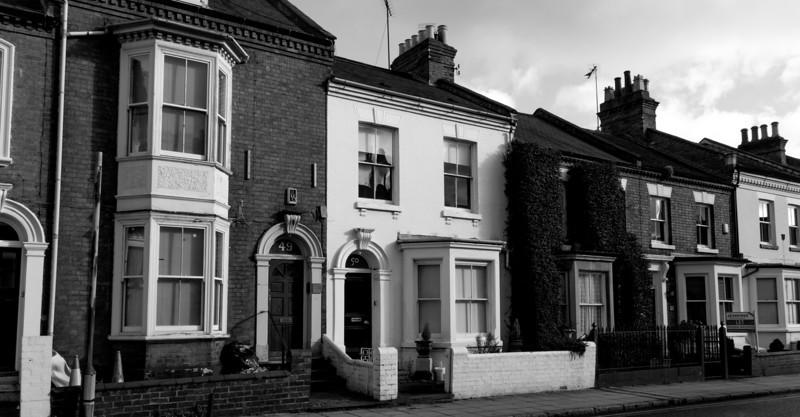 Diverse styles, York Road, Northampton