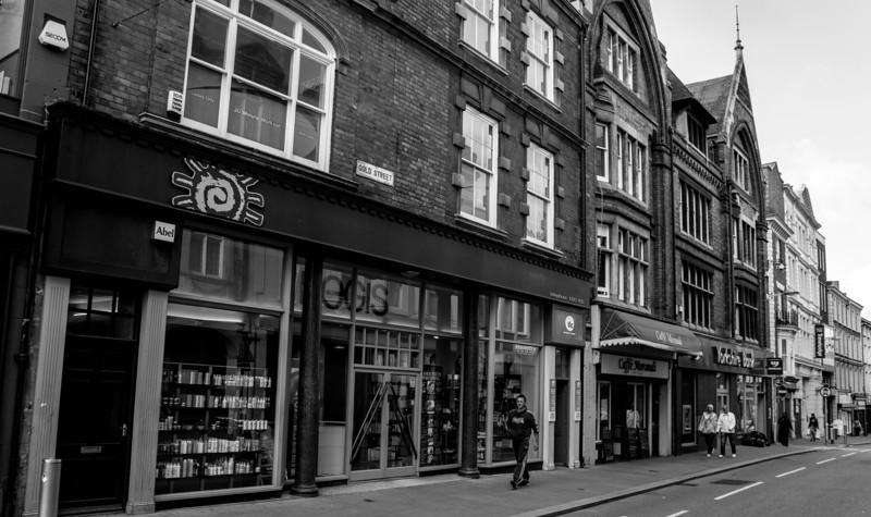 Shops, Gold Street, Northampton