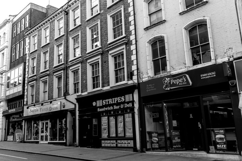 Nineteenth Century Buildings (2), Gold Street, Northampton