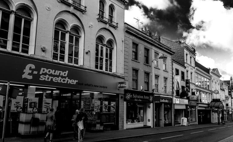 Nineteenth Century Buildings, Gold Street, Northampton