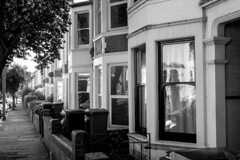 Double bay terraced houses, Bostock Avenue, Northampton