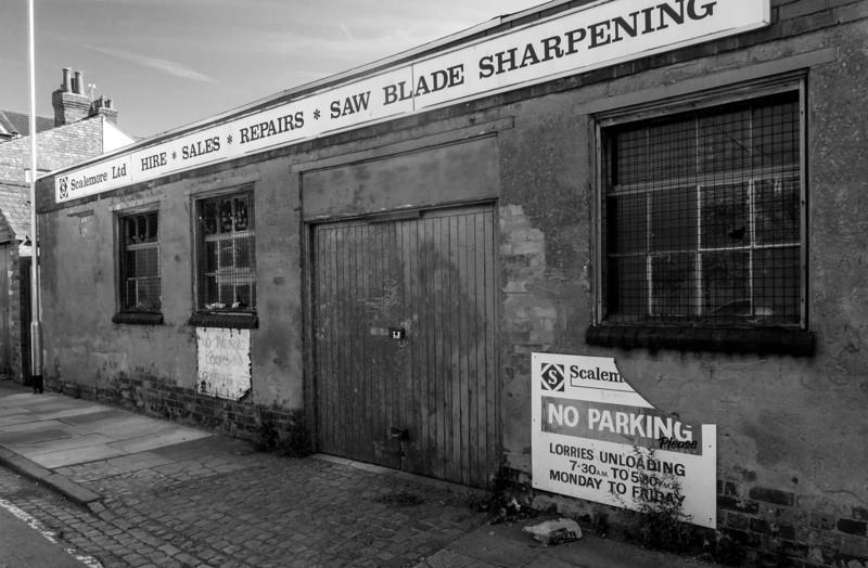 Scalemore workshops, Billington Strret , Northampton