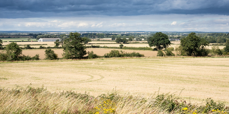 Nene valley in Northamptonshire
