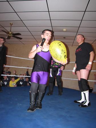"""Northeast Championship Wrestling Hostile Takeover""""  October 16th, 2009"""