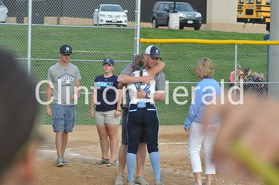 Northeast softball Senior Night (7-1-15)