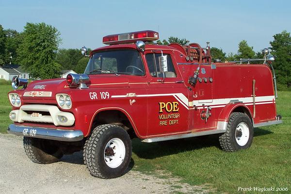 Former Grass Rig 109 - 1954 GMC/Howe 350gpm/250gal