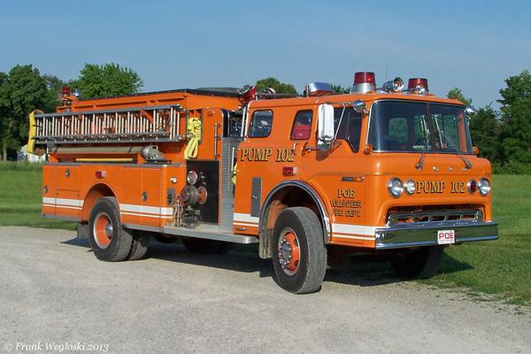 Pump 102 - 1980 Ford C/Darley - 750gpm/1000gal