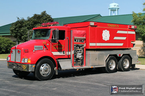 Tender 75 - 2006 Kenworth T300/Fouts Brothers - 750gpm/3000gal