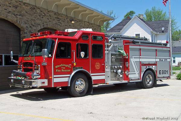 Rescue Engine 801 - 2004 E-One Cyclone II (#128549) - 1250gpm/1000gal