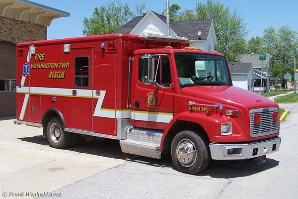 Rescue 808 - 1999 Freightliner FL70/Wheeled Coach/2008 FD
