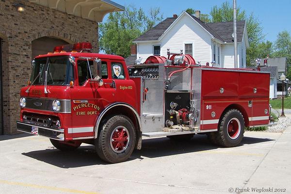 Engine 802 - 1987 Ford C/Pierce Pumper (E-3780) - 1000gpm/750gal