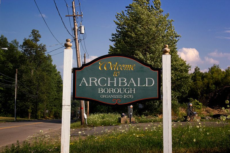 Welcome to Archbald Borough
