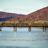 Railroad Bridge, Susquehanna River, Pittston, PA