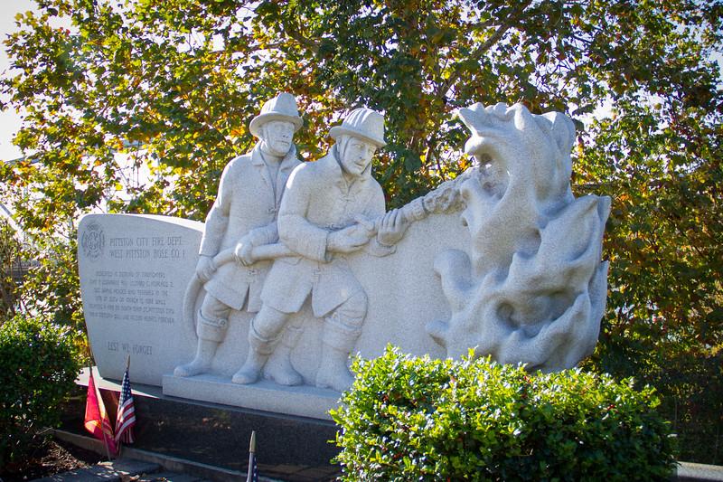 Pittston Firemen Statue