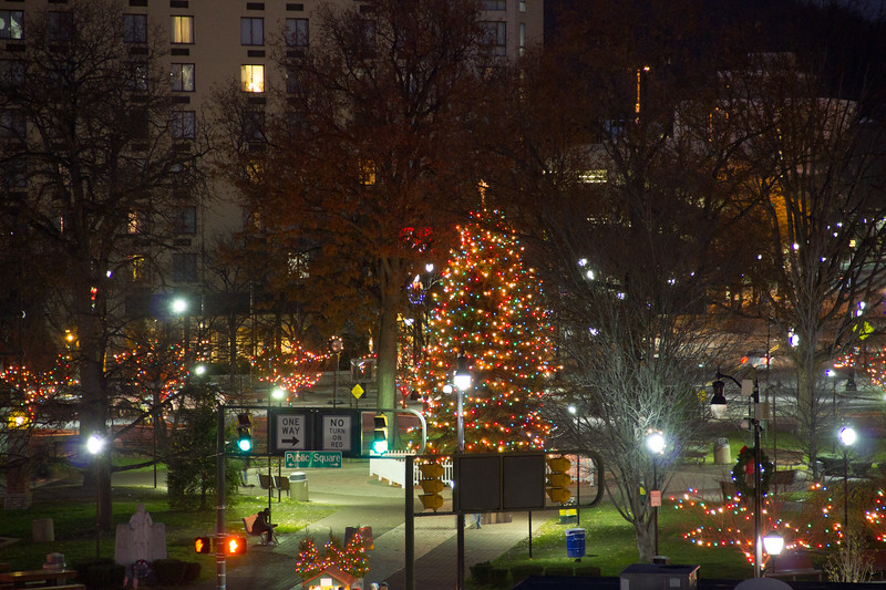 Christmas at Wilkes-Barre Public Square