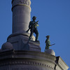 Soldiers and Sailors Monument in Courthouse Square