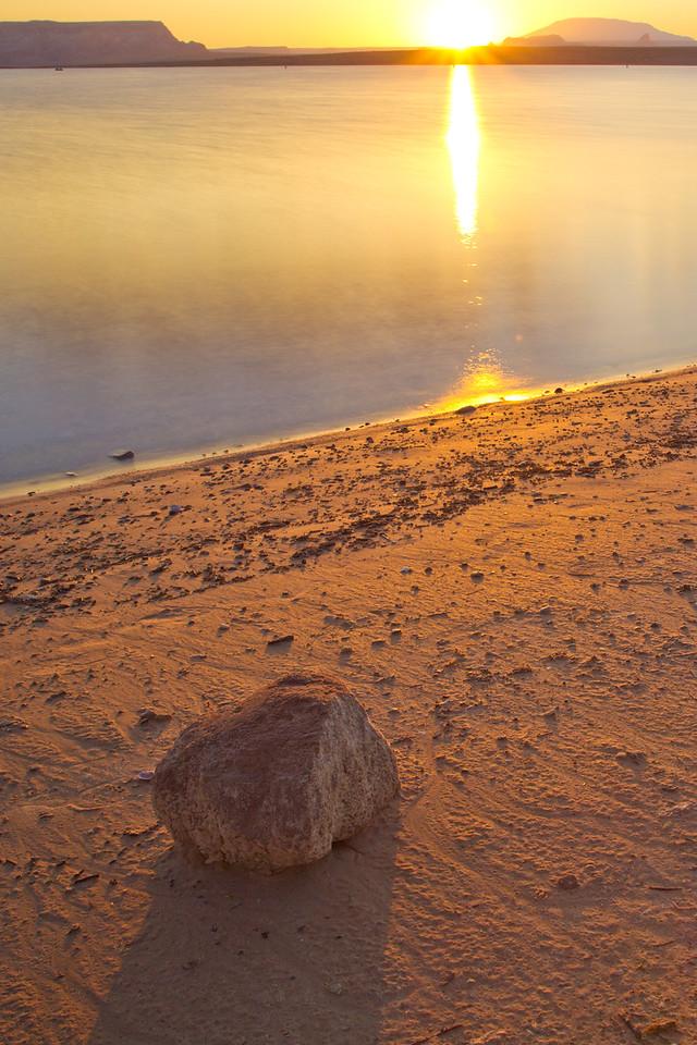 Rock, Water, Light
