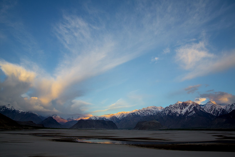 By the Indus river, just outside Skardu.
