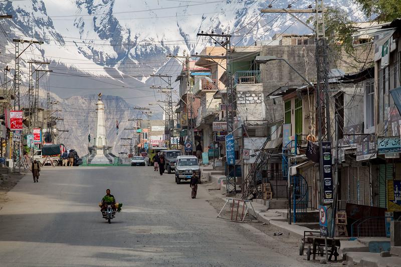 Skardu Bazar.