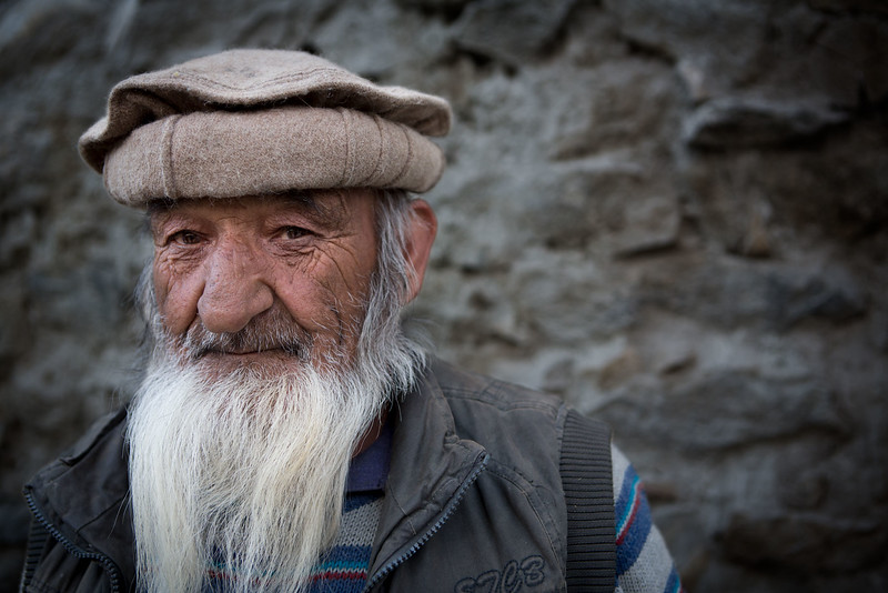 Man from Khaplu. Gilgit-Baltistan.