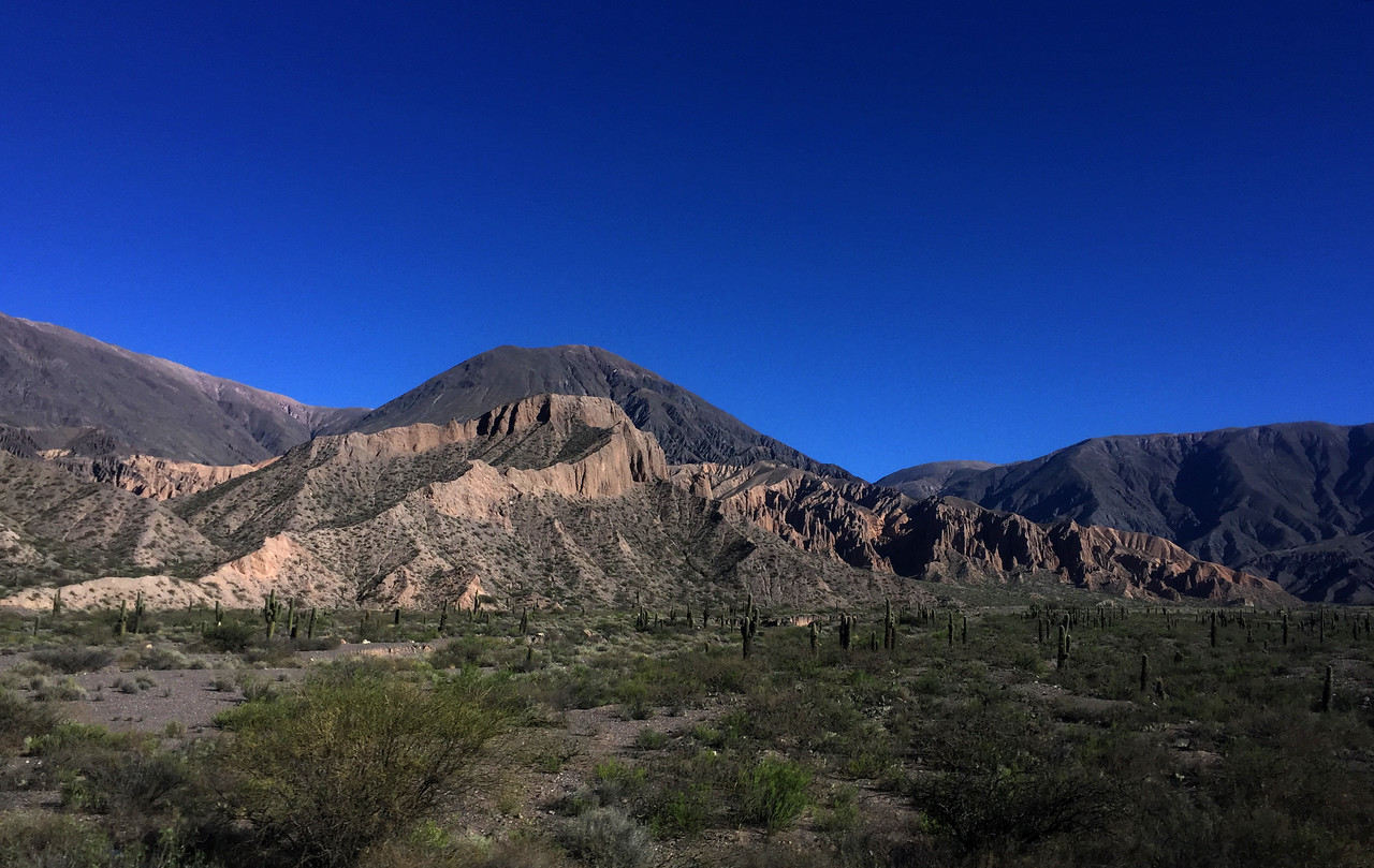 Landscapes from northwest Argentina near Tilcara, Jujuy province
