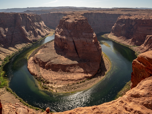 Horseshoe Bend in afternoon