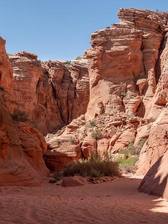 Entrance to Antelope Canyon X