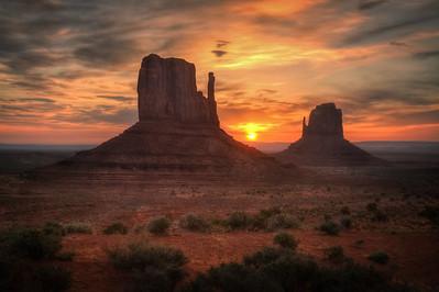 Monument Sunrise