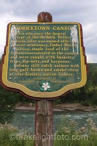 Moricetown Canyon