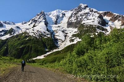 Mountains along Higway 37a