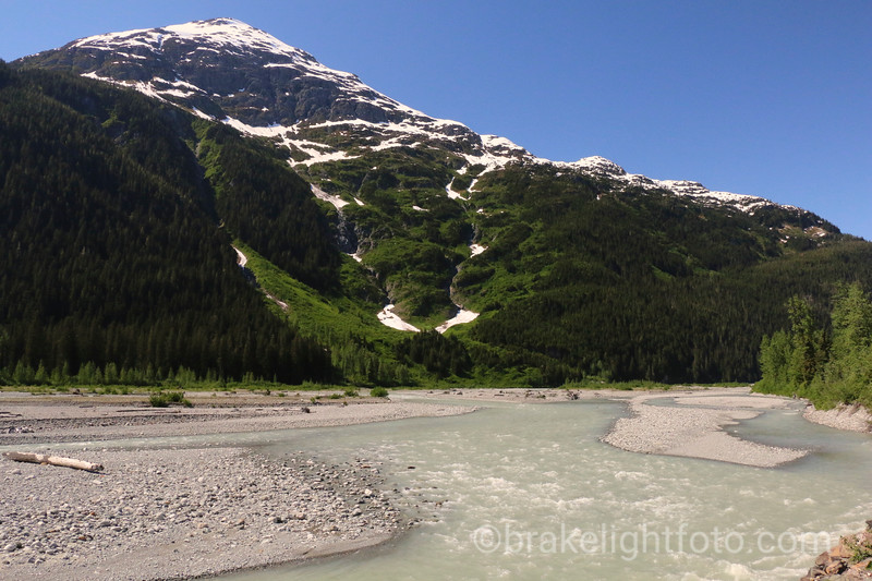Road to Salmon Glacier