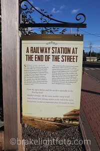 Railway Station at the End of the Street
