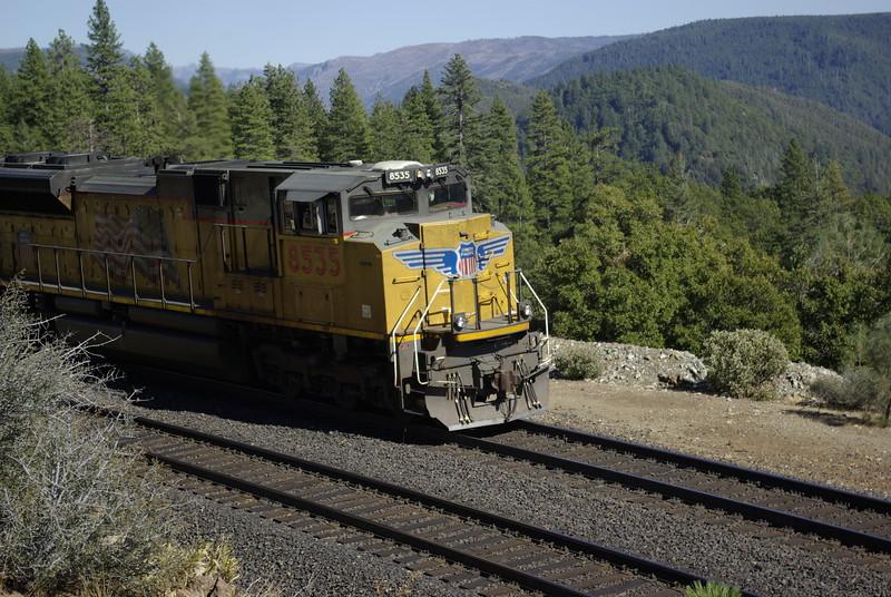 Frieght Train at Rocky Point, near Alta, CA