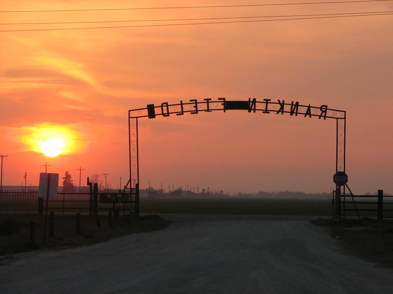 Rankin Field, near Tulare