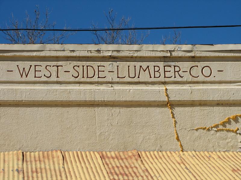 Former Westside Lumber Office, Toulumne