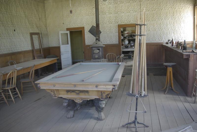 Billiard Table, Bodie