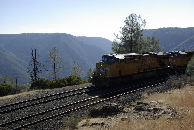 Freight Train at Rocky Point, near Alta, CA