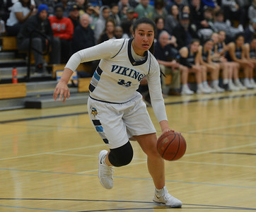 Sirena Tuitele led the Vikings with 16 points in their 47-40 win over Valley Christian of San Jose Saturday to grab the NorCal title and move on the state championship at Golden One Center next weekend. Carin Dorghalli — Enterprise-Record